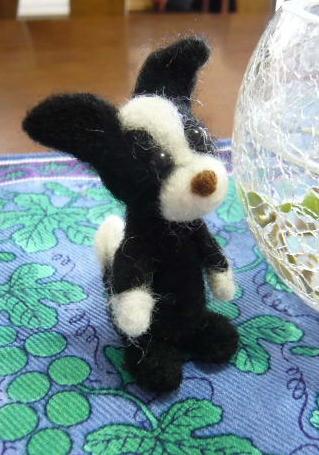 羊毛フェルトで作ってみました。その1