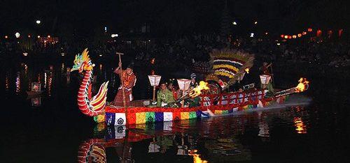 采女祭り 舟