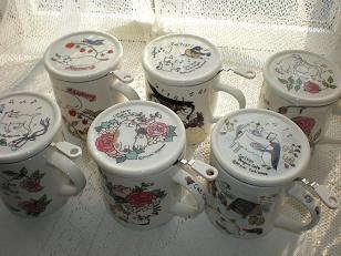 ハーブティーマグカップ