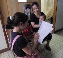 乳幼児健診でのアンケート調査