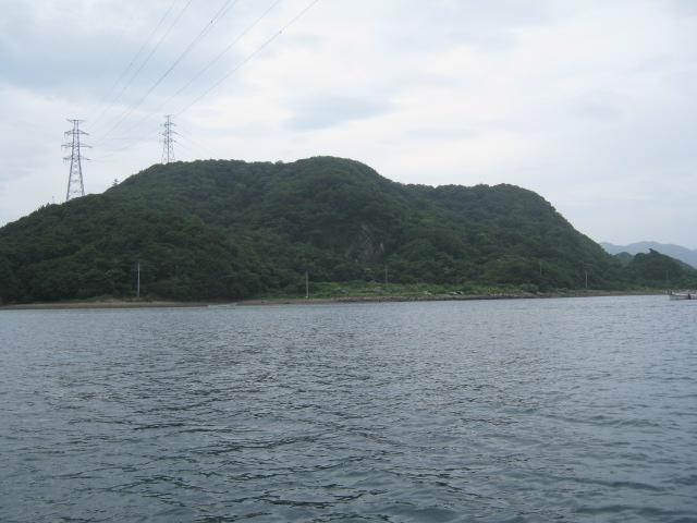 帰りの船からの風景 その1♪
