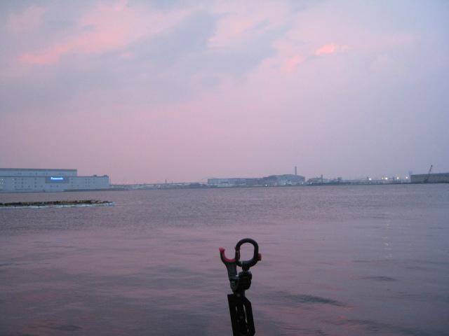 夕焼け空となりました^^;