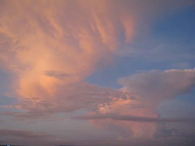 夕焼け空となりました(^^)