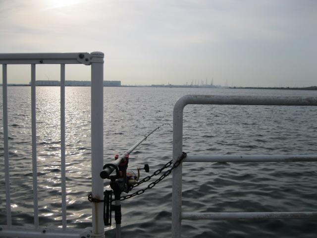南港海釣り公園です(^^)