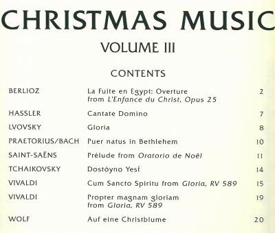 クリスマスミュージック3Blog