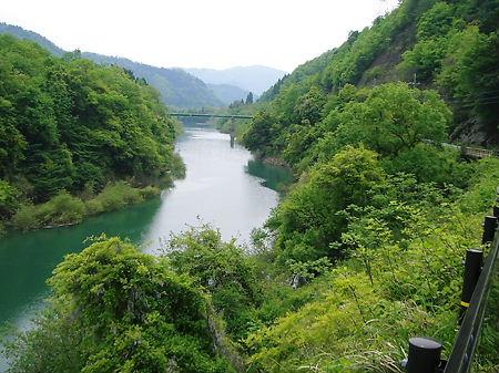 大野ダム上流