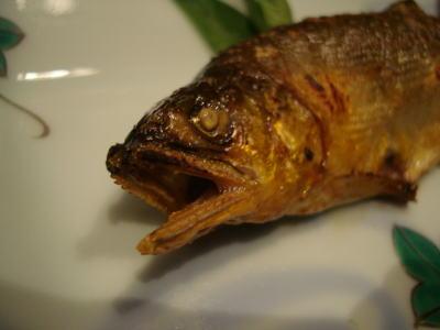 旬肴 鮎の塩焼き