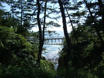 幸せの厳門橋。