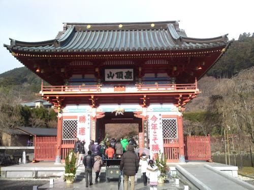 初詣 勝尾寺1