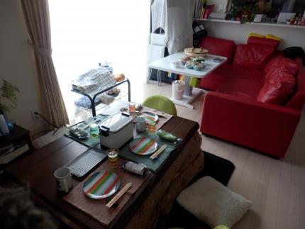 松本家ホームパーティー (4)