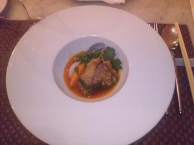 コイズミ(La briffe Chez KOIZUMI)甘鯛のトマトソース南フランス風