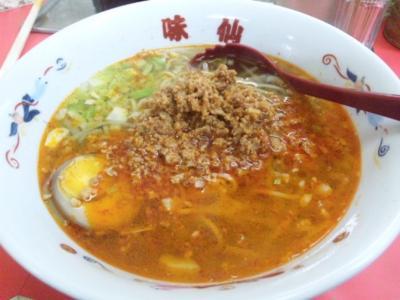 味仙炸醤麺(ザーチャンメン)735円