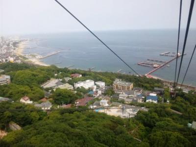 須磨浦山上遊園ロープウェイ350円