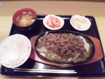 韓国料理ソウル焼肉定食800円