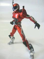仮面ライダーアクセル(スロットル回転)