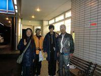 (左から)私、O川さん、K桐さん、八重ちゃん