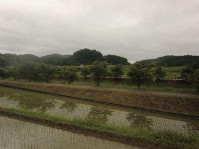 榛原駅に向かう途中の風景