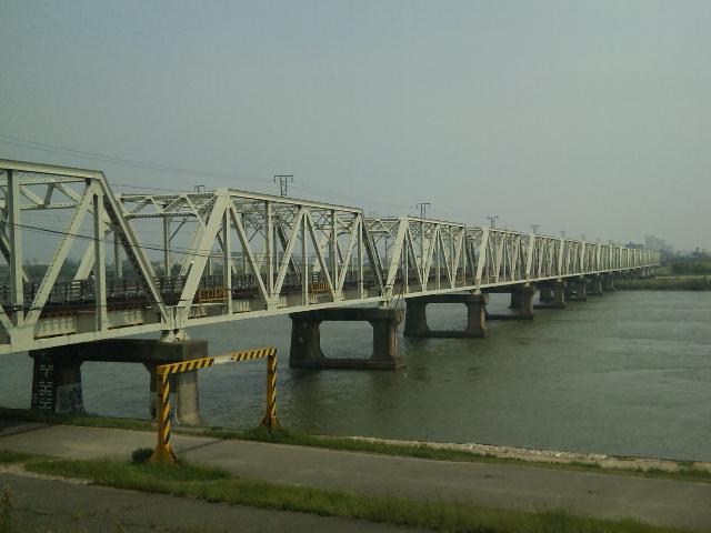 赤川鉄橋。