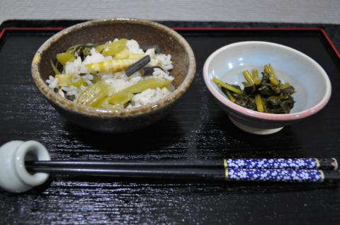 山菜ご飯2