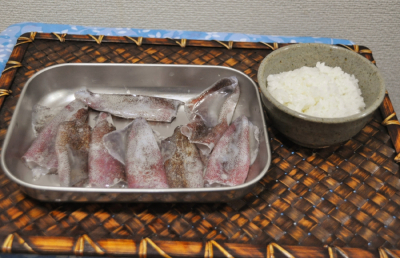 イカ飯準備ー1