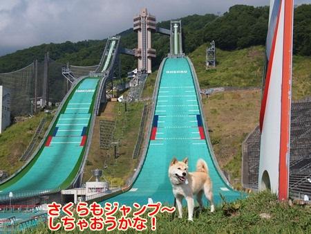 ジャンプ~!?