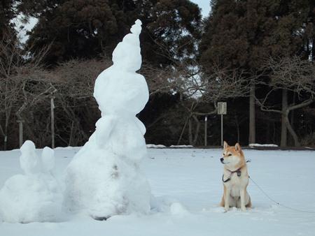 雪だるまさんと♪
