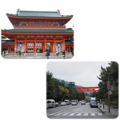 雨上がりの京都