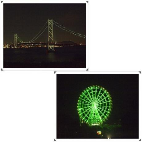 夜景の大橋