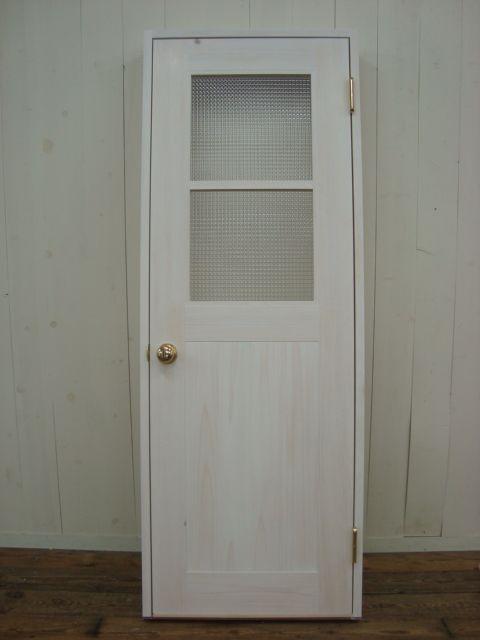 リビングドア塗装済