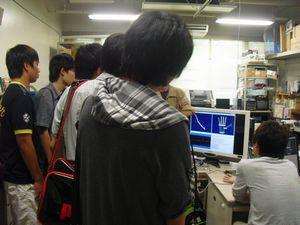平成23年8月8日書写オープンキャンパス2