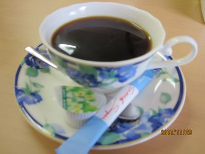 平成23年11月29日花コーヒー