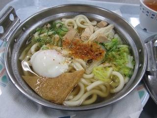 平成24年1月24日鍋焼きうどん