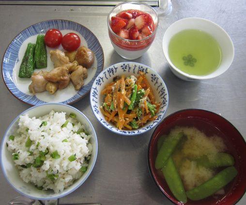 平成24年4月20日減塩クッキング定食