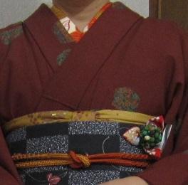 平成24年10月28日和服コーデ2