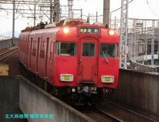 名鉄 瀬戸線の釣り掛け6700系 9