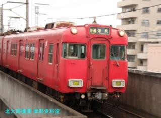 名鉄 瀬戸線の釣り掛け6700系 10