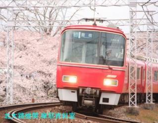 サクラと名鉄2010 2
