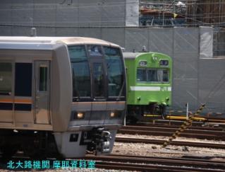 京都駅で暑い中も涼しくオーシャンアローを撮る 4