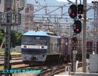 京都駅で暑い中も涼しくオーシャンアローを撮る 8