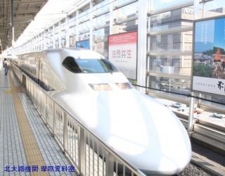 新幹線京都駅で一通り撮れた新幹線 1