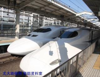 新幹線京都駅で一通り撮れた新幹線 7