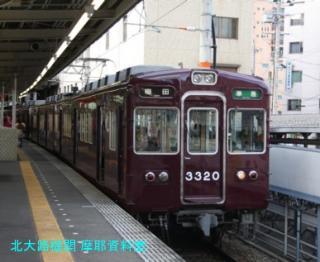 阪急の6300系がまだみれるのが嵐山線 2