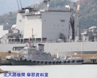 舞鶴基地 掃海艇桟橋 100409 6