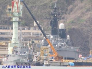 舞鶴基地 掃海艇桟橋 100409 9