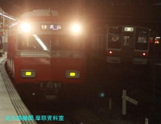 名鉄電車を金山で、5700とか 2