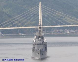 舞鶴基地 護衛艦みねゆき帰港と接岸 5
