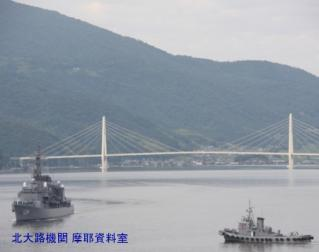 舞鶴基地 護衛艦みねゆき帰港と接岸 7