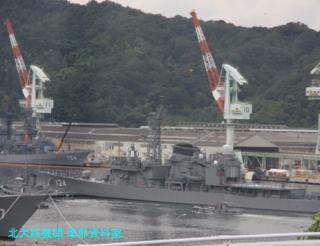 舞鶴基地 護衛艦みねゆき帰港と接岸 8