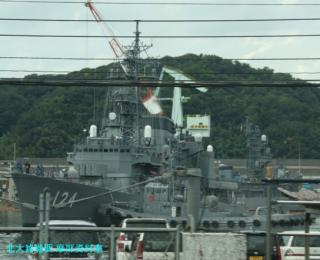 舞鶴基地 北吸桟橋バス車内からの風景写真 5