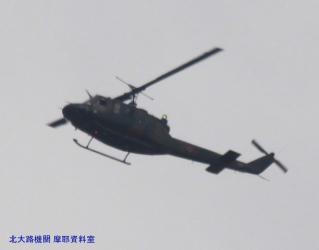 見上げればP3C,岐阜方面から飛んできた 9